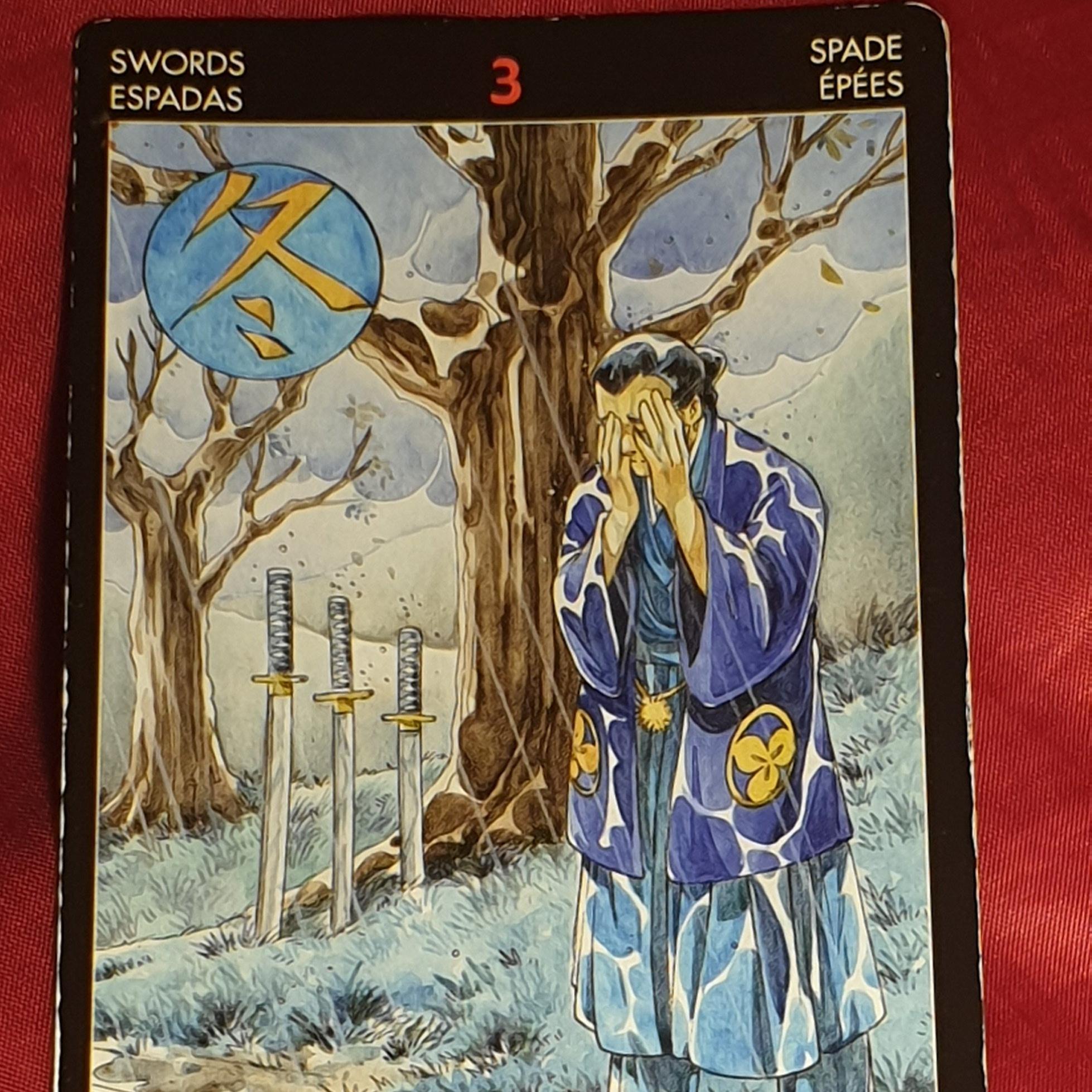 Three of Swords Tarot