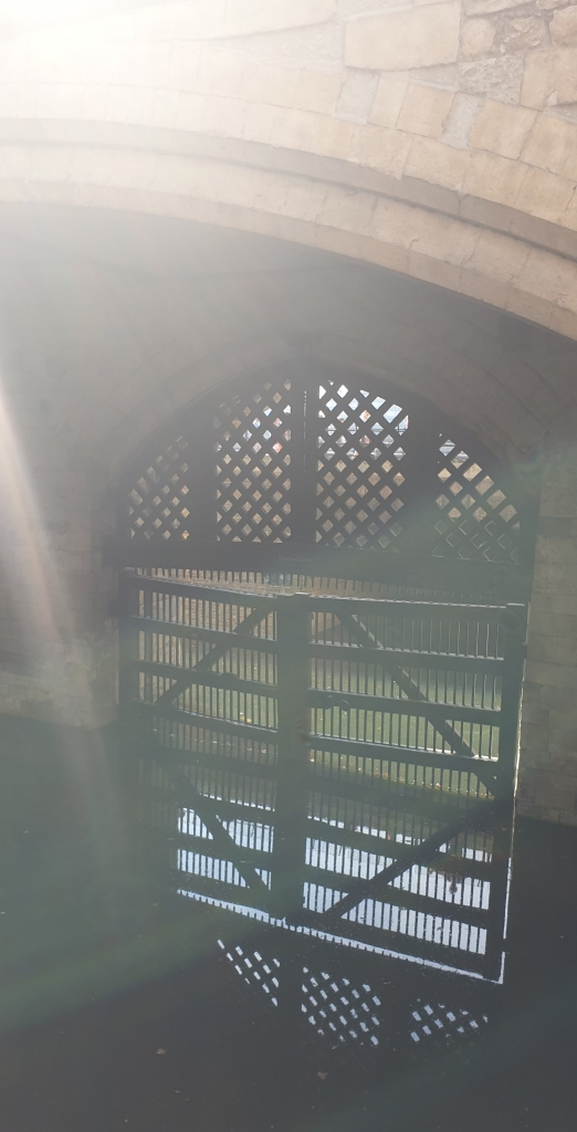 The notorious Traitors Gate!